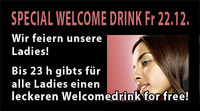Welcome Drink 4 Girls