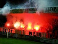 Fans des SK Vorwärts Steyr