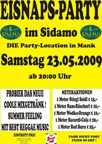 Eisnaps-Party@Cafe Sidamo Mank