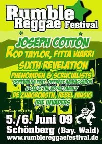 Rumble Reggae Festival 2009@Schönberg/Ohetal-Bay.Wald
