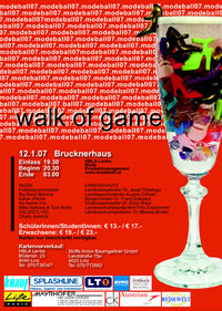 Modeball 07 Walk of game@Brucknerhaus