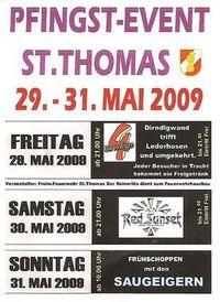 Gruppenavatar von Pfingst Event St.Thomas 29.-31. Mai09