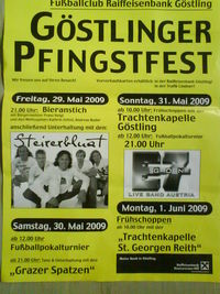 Göstlinger Pfingstfest@Festwiese/Zentrum