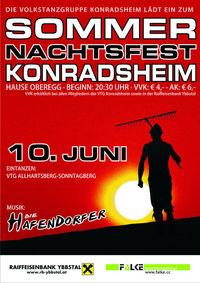 Sommernachtsfest@Hause Oberegg