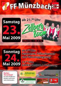 """FF Abschnittsbewerb in Münzbach 09 """"ICH BIN DABEI"""""""