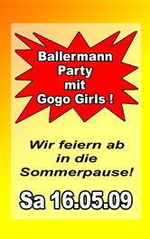 Ballermannparty - Wir feiern ab in die Sommerpause