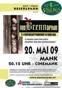 NeoBrennDirndln im Cinemank (Kino Mank)@Cafe Sidamo Mank
