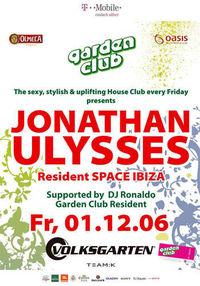 Garden Club with Star DJ Jonathan U