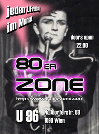 80er-Zone - Pop, Wave & Underground@Club U96