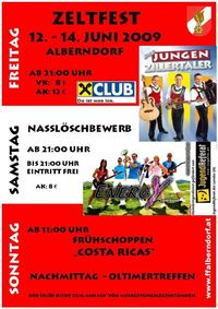 Zeltfest FFAlberndorf@Freiwillige Feuerwehr Alberndorf