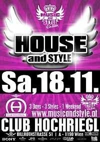 House And Style@Club Hochriegl