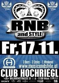 Rnb And Style@Club Hochriegl