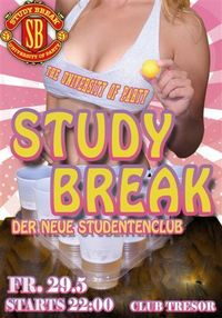 Study Break@Club Tresor (GESCHLOSSEN)