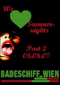 We Love Summernights@Badeschiff