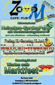 Mexican Weekend@Cafe Pub Zooom