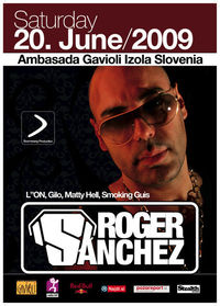 ROGER SANCHEZ @ Ambasada Gavioli@Ambasada Gavioli