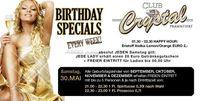 Club Crystal - Birthday Specials