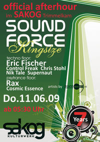 Official Afterparty Soundforce KINGSIZE@Kulturwerk Sakog