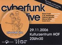 Cyber Funk Live im HOF@Kulturzentrum HOF