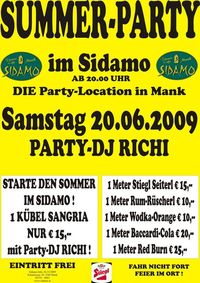 Summer-Party@Cafe Sidamo Mank