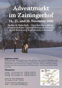 Adventmarkt im Zainingerhof@Zainingerhof