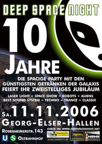 Deep Space Night Birthday 10 Jahre@Babylon