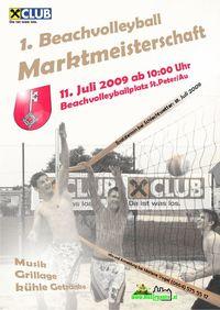 1. Beachvolleyball Marktmeisterschaften@Beachvolleyballplatz St.Peter/Au