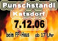 Punschstandl@FF-Haus