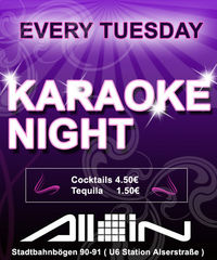 Karaoke Night@All iN