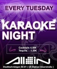 Karaoke Night@All iN