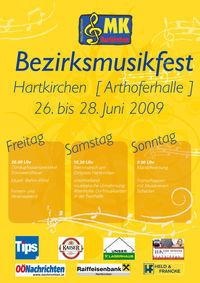 Bezirksmusikfest@Arthoferhalle