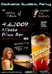Cocktail For Students - Tequila Sunrise@Alibaba