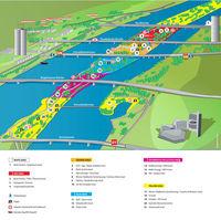 26.Donauinselfest: (04) Organisationszentrale@Donauinsel