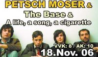 Petsch Moser & The Base@Avalon Anderswelt