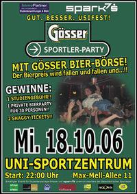 Gösser Sportler-Party@Uni-Sportzentrum