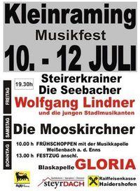 Gruppenavatar von Zeltfest Kleinraming 09  --  10.07. - 12.07.