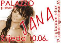 Srijeda @ Palazzo: Jana@Cafe Palazzo