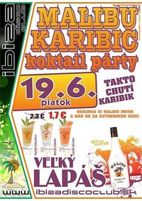 MALIBU KARIBIK KOKTAIL PARTY@Ibiza Disco Club