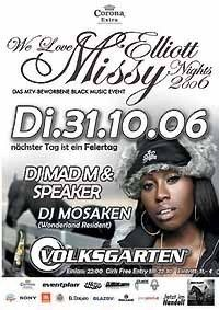 We Love Missy Elliott Nights 2006