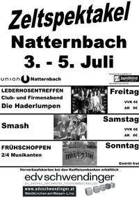 Zeltspektakel Natternbach@Festwiese