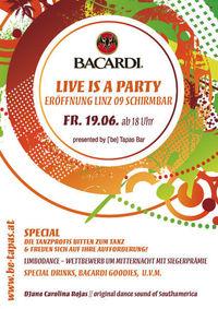 Latin Music Club - Bacardi Life is a party@[`be] Tapas Bar . Wissensturm