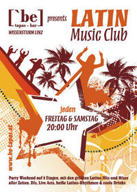 Latin Music Club - Latin Lover@[`be] Tapas Bar . Wissensturm