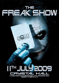 The Freak Show@Crystal Hall