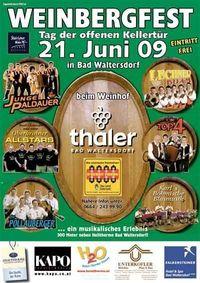 Weinbergfest - Tag der offenen Kellertür@Weinhof Thaler ( nähe Therme )