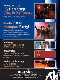 The Ruby Tubes Live