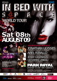 In Bed with Space World Tour 2009