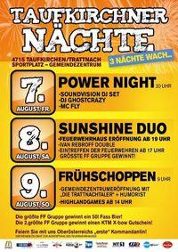 Taufkirchner Nächte - Tag 2@Festzelt Gemeindezentrum