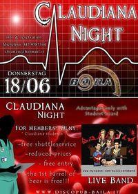 Claudiana Night@Discopub Baila