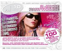 2 Jahre Partyhouse