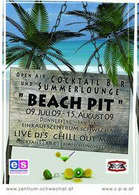 Beach Pit - die Open Air Cocktailbar / Sommerlounge@Einkaufszentrum Schwechat